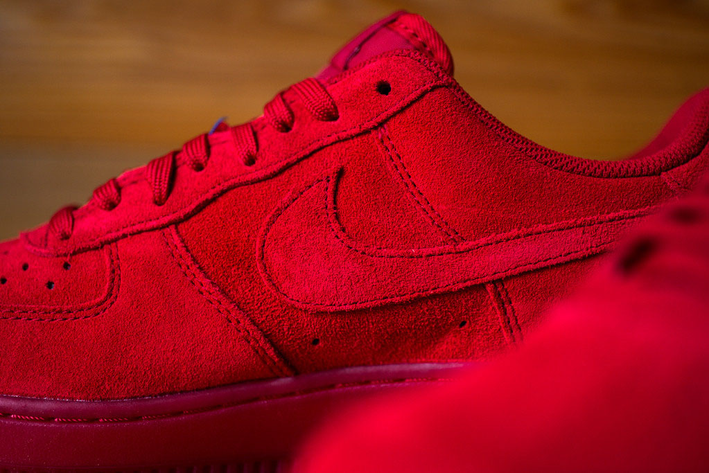 Nike Lunar Force 1 Rouge Rouge 43