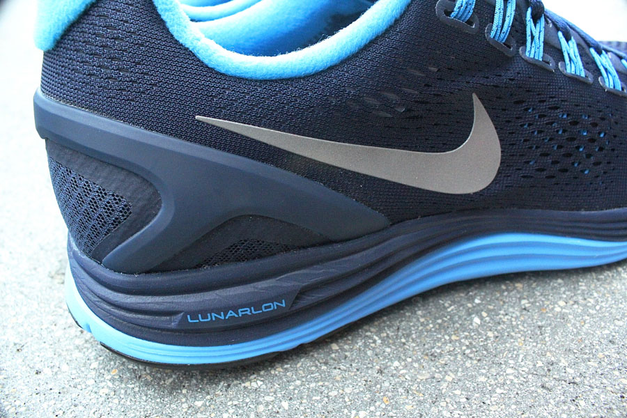 Nike Lunarglide+ 4 Midnight Navy Reflective Silver Blue Glow 524977-404 (2)