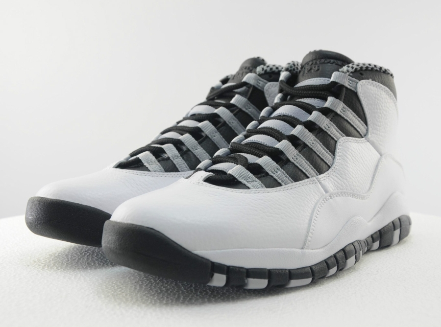 check out 86872 99483 Air Jordan 10 Retro - Steel Grey | Sole Collector