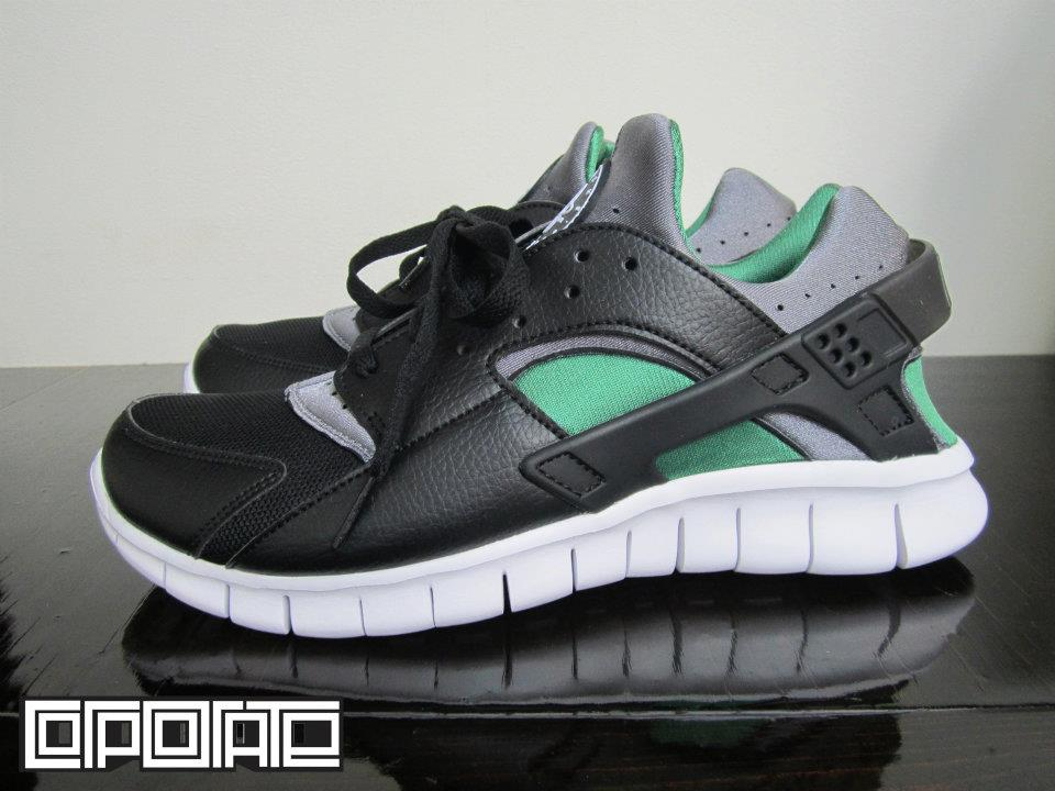 Nike Huarache (Black/Cool Grey-dark Grey)