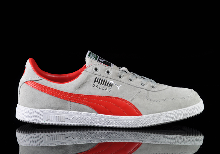 reputable site b89aa 5fb01 PUMA Suede Classic Mid   Dallas - Grey Red Pack