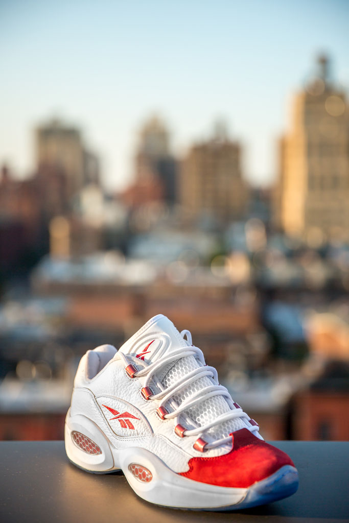 Reebok Question Low White/Red (1)