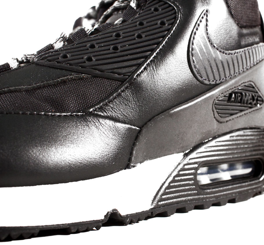 Nike Air Max 90 Sneakerboot Black/Magnet Grey 684714-001 (6)