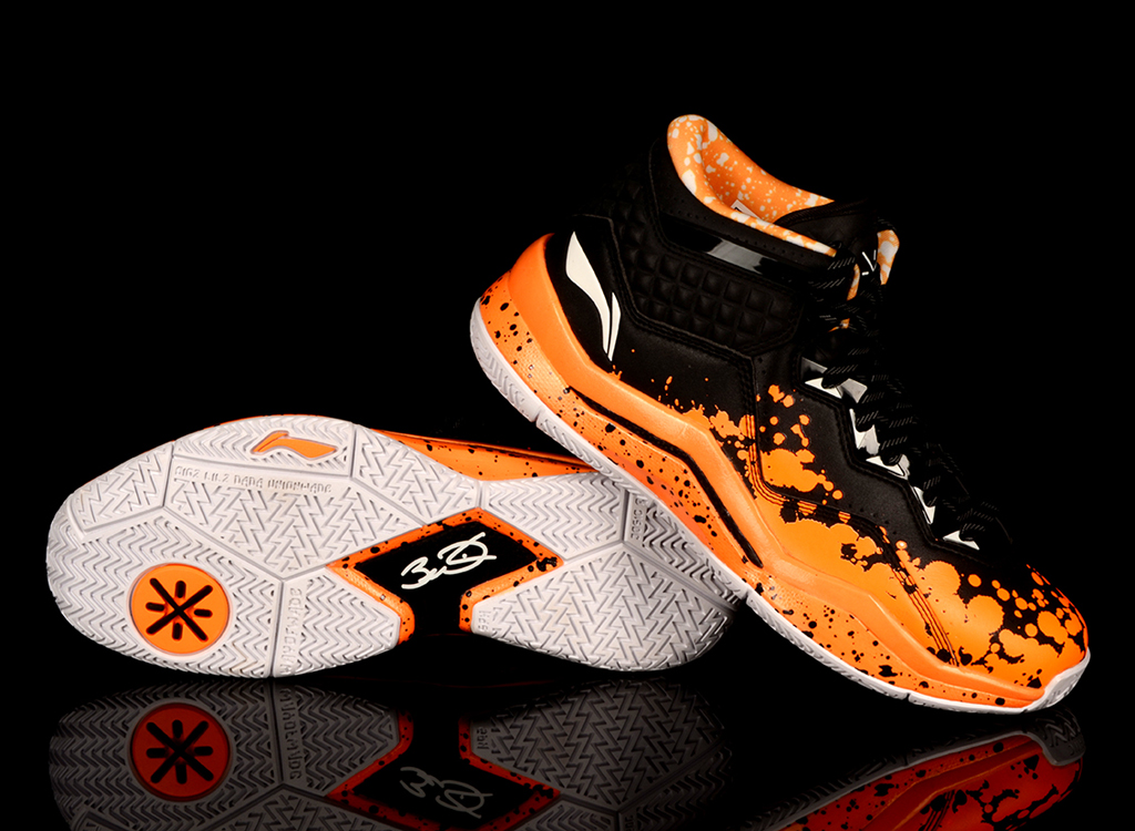 Li-Ning Way of Wade 3 Orange Drip (3)