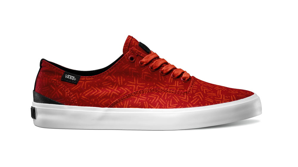 Vans OTW Lines Pack Prescott in red