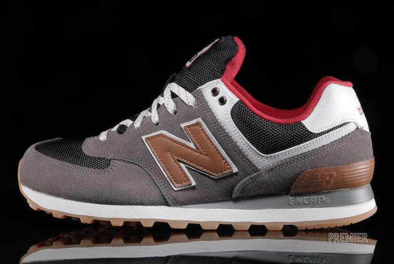 brown new balance 574
