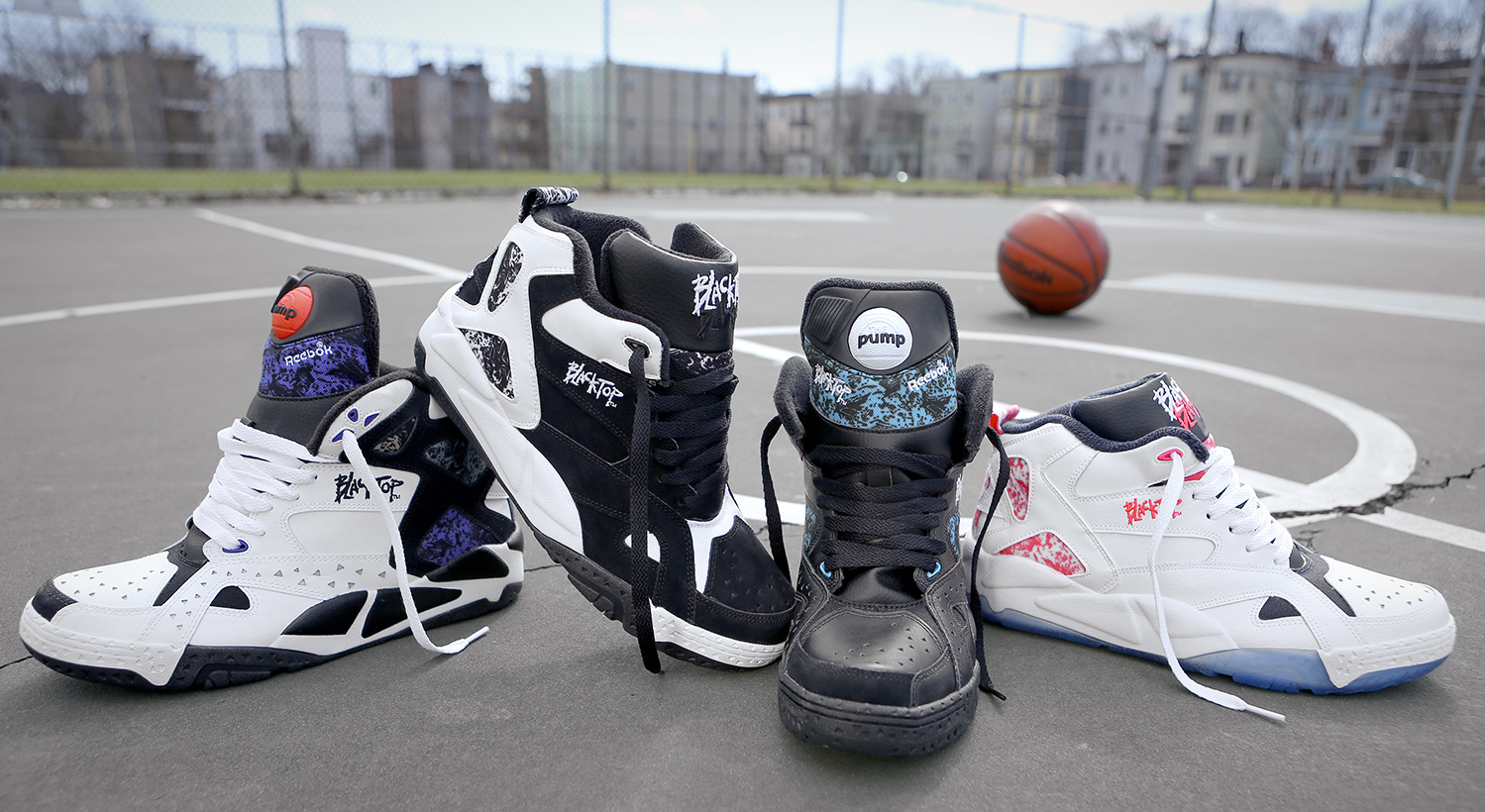 0a9d20d9369 Reebok s classic Blacktop series is back this summer with the first ever  return of two classic outdoor basketball models.