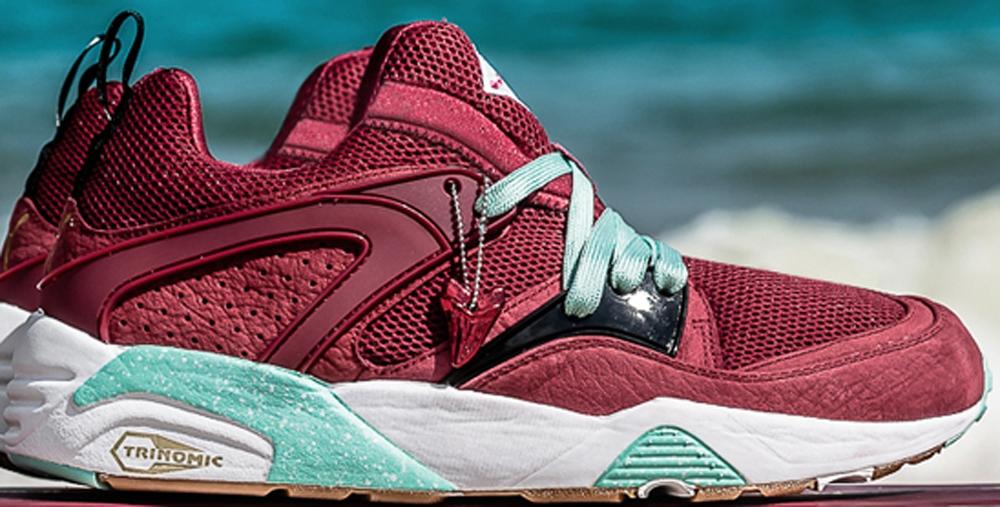 Packer Shoes x Sneaker Freaker x Puma Blaze Of Glory Bloodbath