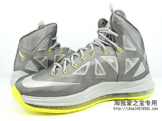 best service d9a8a 148fa Nike LeBron X Canary Yellow Diamond 541100-007 (5)
