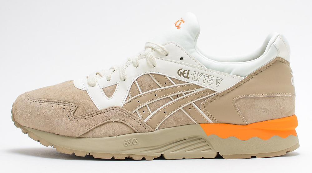 more photos ec5c8 bd24d Sandy Suede Covers the Asics Gel Lyte V | Sole Collector