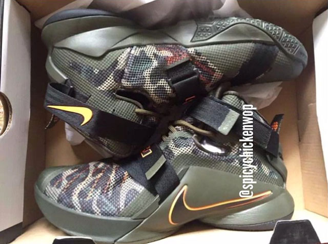 Sneakerheads Will Be Hunting Down This Nike LeBron Soldier 9
