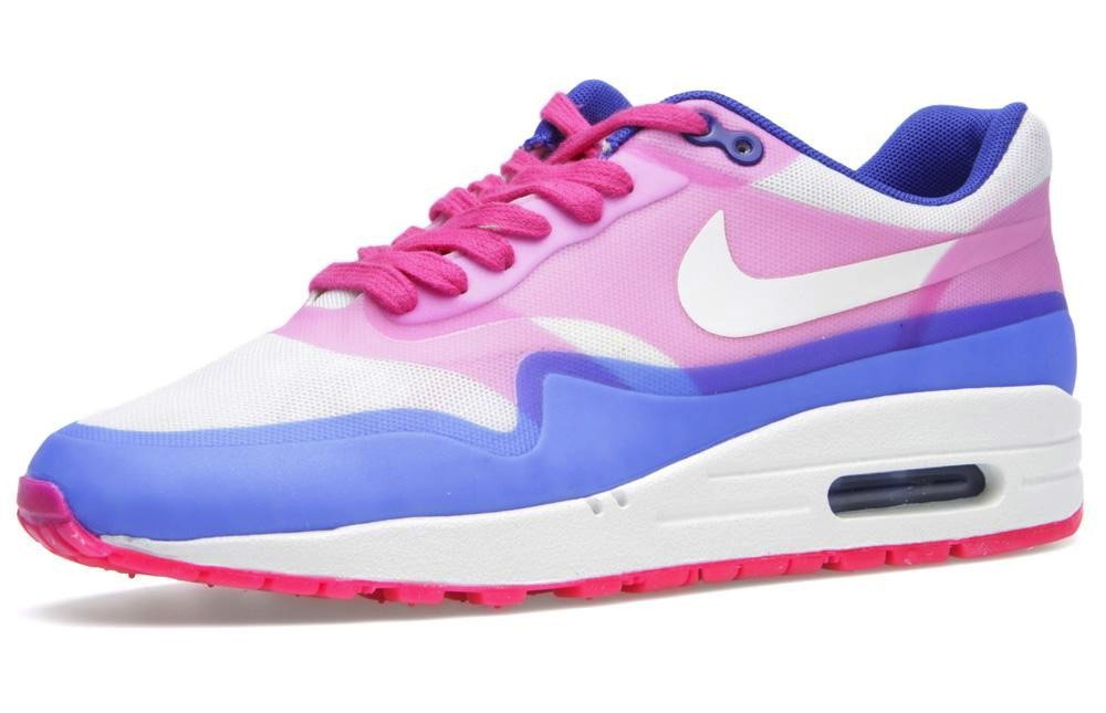 Nike WMNS Air Max 1 Hyperfuse PRM Pink Force Hyper Blue