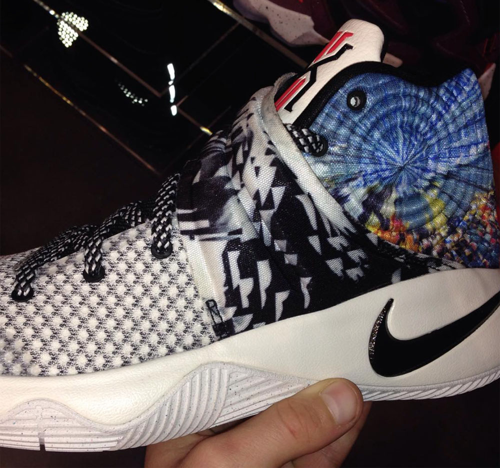 buy online dd57f 8963c UPDATE 12 08  It turns out this is the QS colorway that will lead the Nike  Kyrie 2, launching on Dec. 15. Nike Kyrie 2 Tie-Dye (1)
