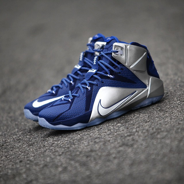 Nike LeBron XII 12 What If Dallas Cowboys 684593-410 (2)
