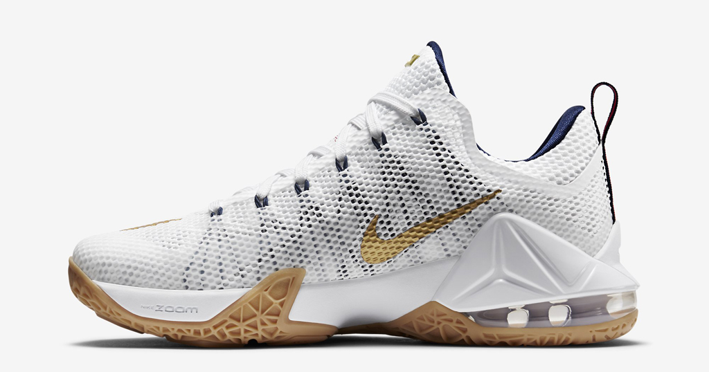 How to Buy the  USA  Nike LeBron 12 Low on Nikestore  c8a8954ce2
