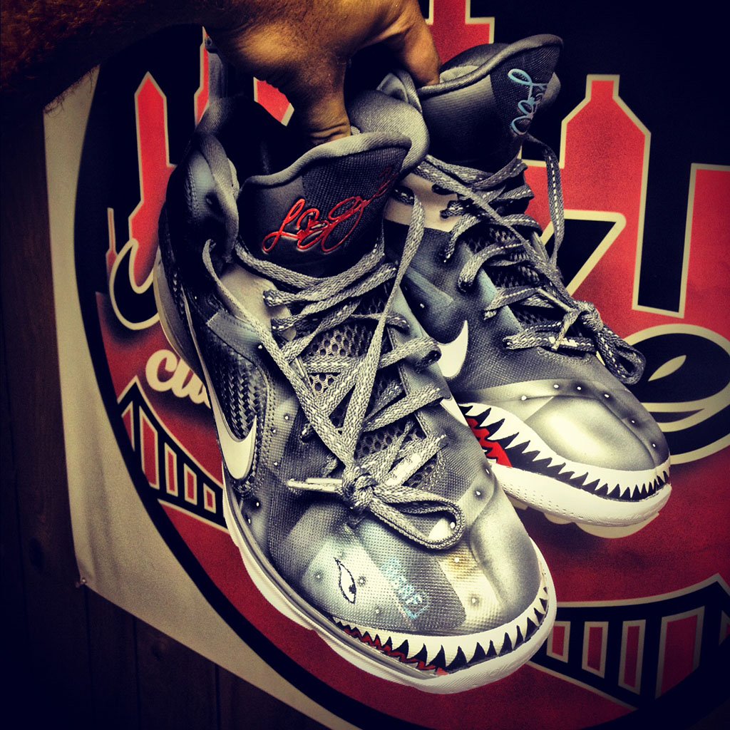 "Nike LeBron 9 ""Wounded Warriors Project"" by Mache Custom ..."