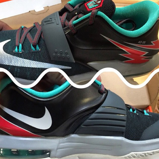 info for 40a21 c3d47 See How the Nike KD 7 'Thunder Bolt' Looks On-Feet | Sole ...