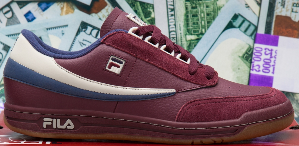 Fila Original Tennis Burgundy/Cream-Navy