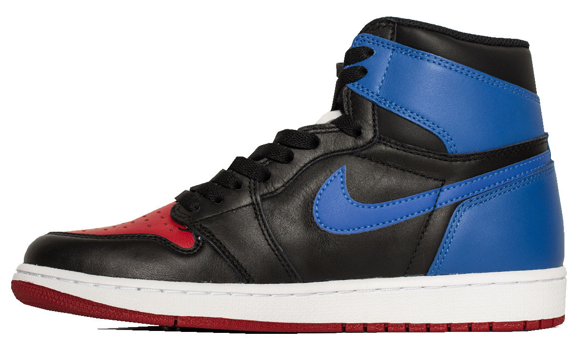 Air Jordan 1 Top Three Right Medial 555088-026