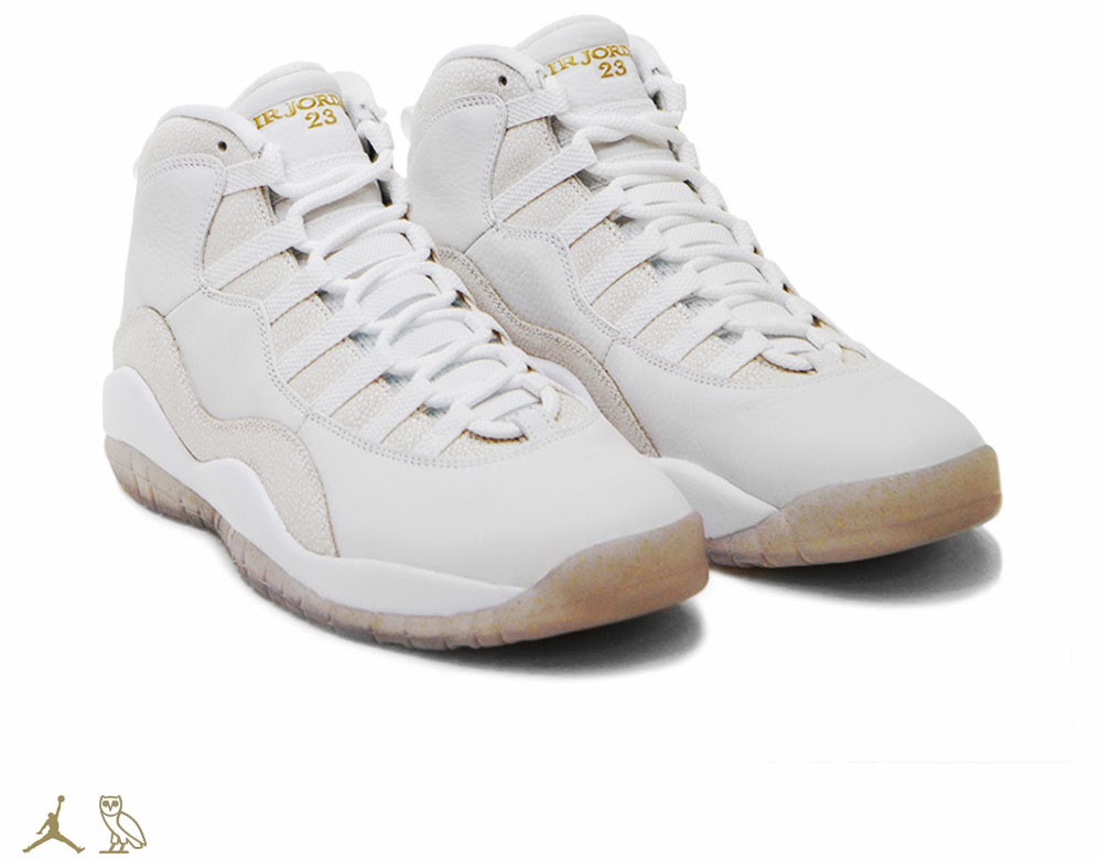 OVO x Air Jordan 10 White (1)