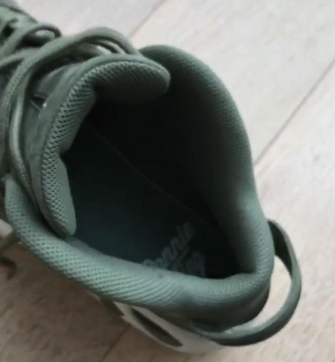 Ronnie Fieg x Nike Air Max Uptempo 97 Green Heel