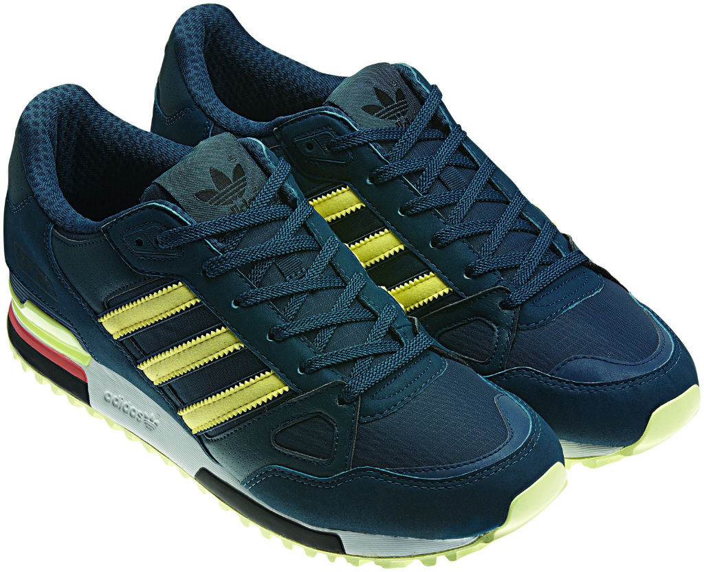 adidas Originals ZX 750 Green Yellow Spring Summer 2013 Q23660 (2)