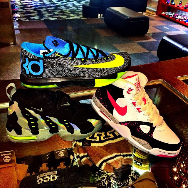 Jim Jones Picks Up Nike KD 6, Nike DT Max 96, Nike Flight '13 Mid