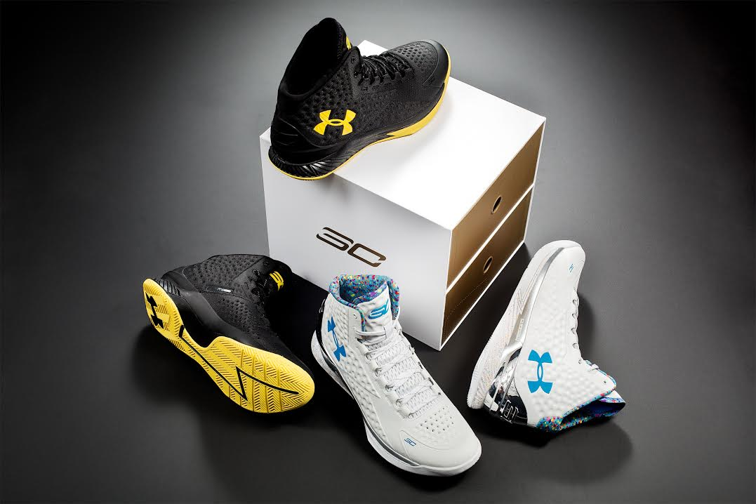 a7faab55cd5166 Stephen Curry s  Championship Pack  Under Armour Curry Ones
