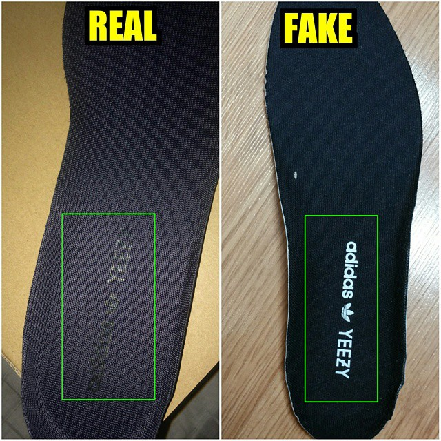adidas yeezy original vs fake