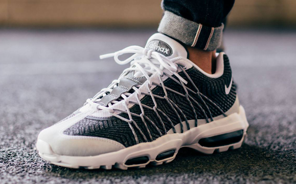 Nike Air Max 95 White And Grey
