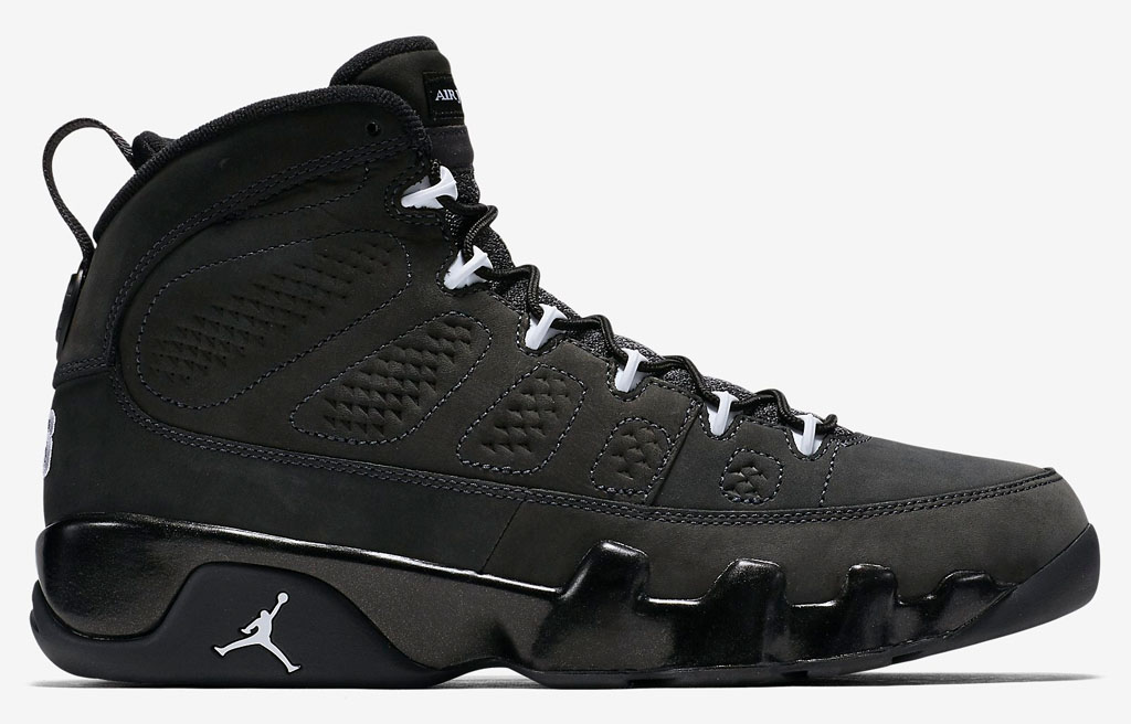 Air Jordan 9 Anthracite Release Date 302370-013