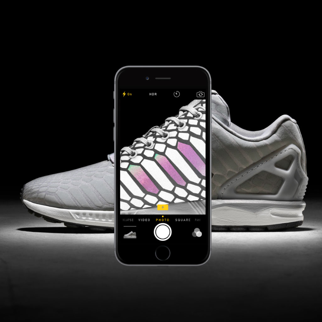 new style 9b905 91ff3 The 'Xeno' adidas ZX Flux Turns Silver | Sole Collector