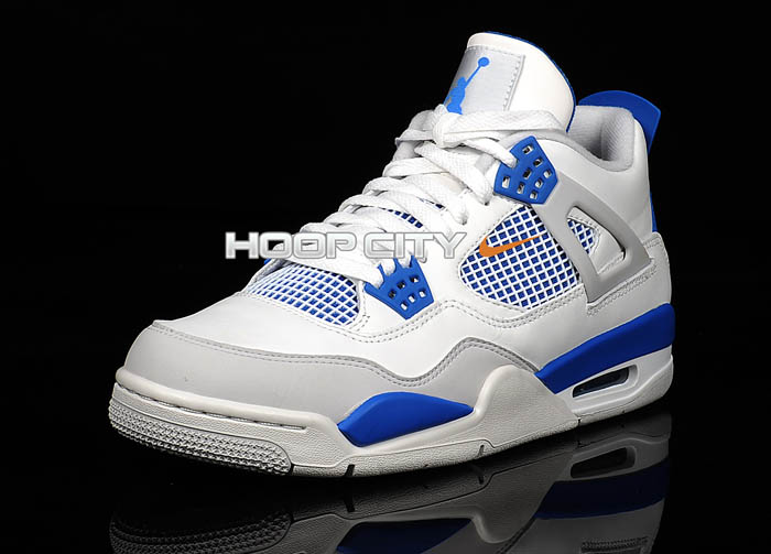lowest price aac96 d40fc Air Jordan Retro 4 - Military Blue | Sole Collector