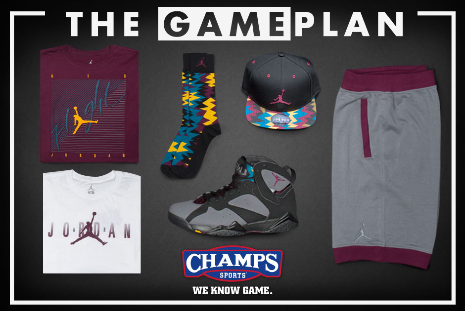 ddf0fdd00ec7be The Game Plan by Champs Sports Presents the Jordan Bordeaux Collection