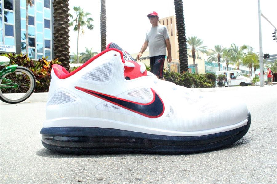 9c191730fe2 Nike LeBron 9 Low USA 510811-101 (1)