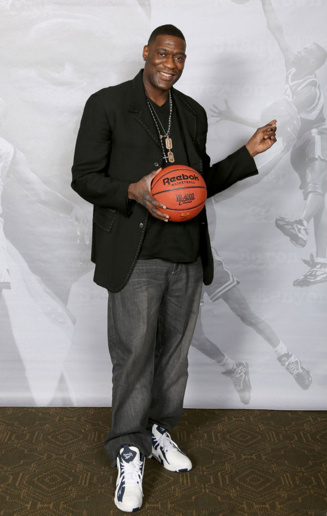 Shawn Kemp Attends Reebok Kamikaze II Re-Launch In Houston (1)