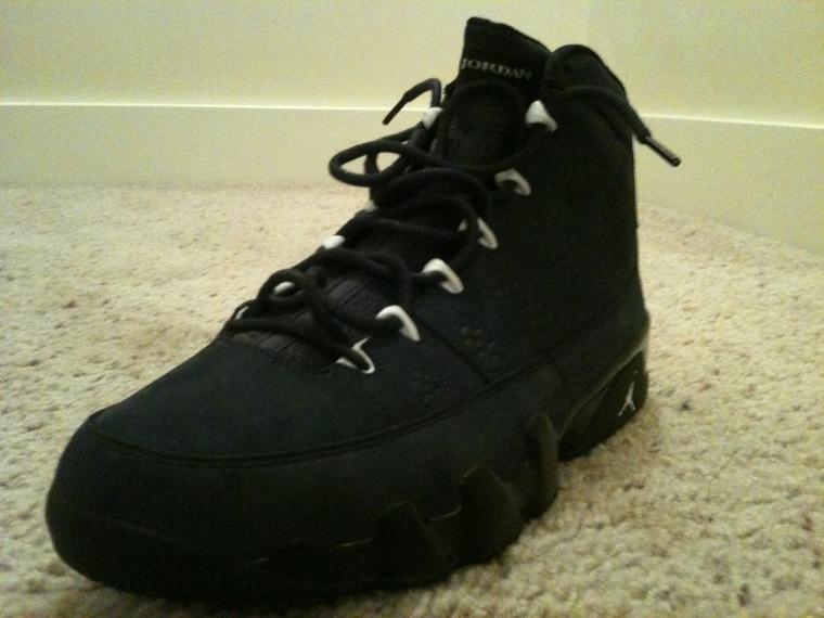 Air Jordan All Black 9