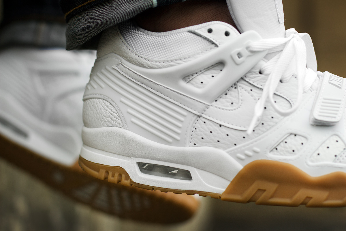 low priced 2a44d 8e577 Nike Isnt Done With White and Gum. Air Trainer ...