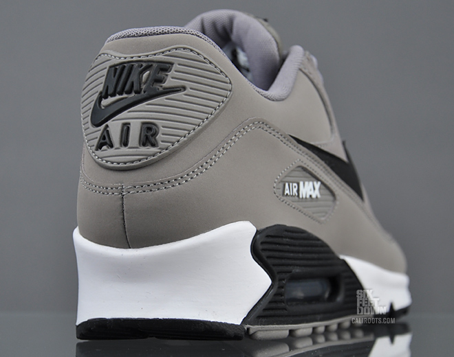 best sneakers 2e733 a38e7 Nike Air Max 90 Essential - Sport Grey   Black   White