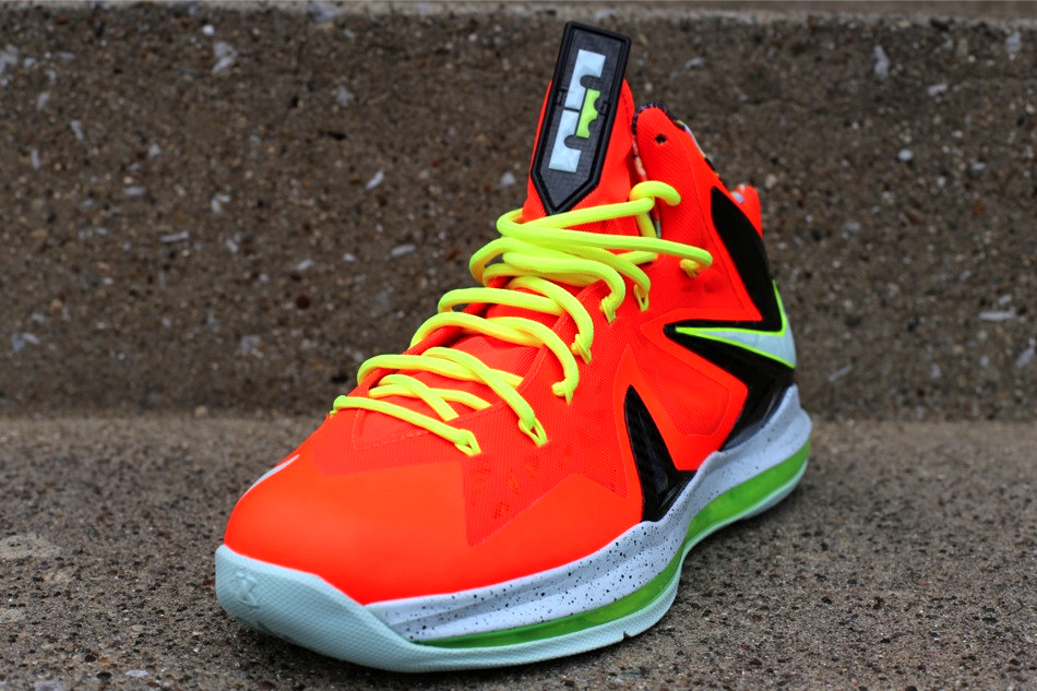 new product 38ae8 0e9e3 ... czech nike lebron x p.s. elite total crimson fiberglass black volt  f845f 9798e