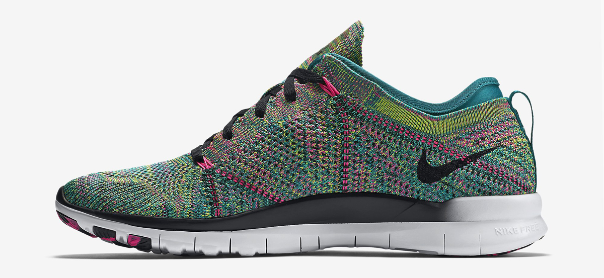This  Multicolor  Nike Free Flyknit Is Finally Releasing   Sole ... 18b9f74d527f