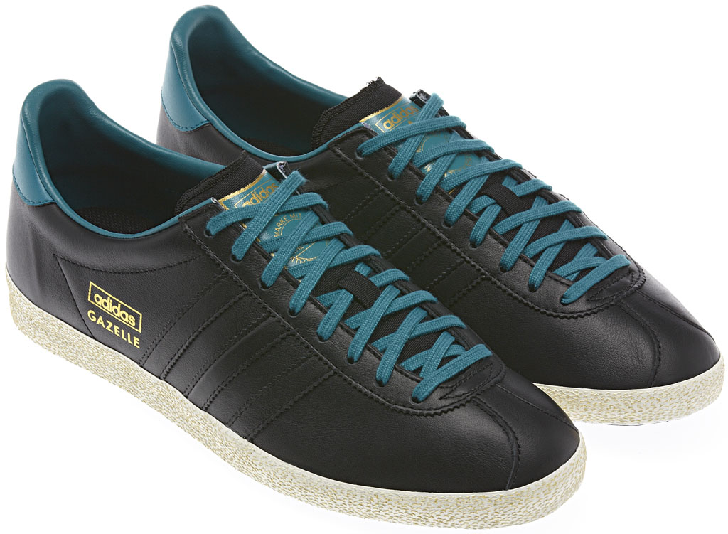 adidas Originals Gazelle OG - Winter 2013 Black/Teal