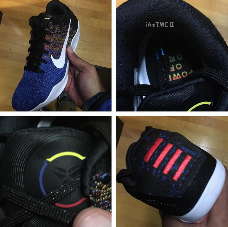 separation shoes a43f3 9c972 Nike Uses Multicolor Flyknit for 'BHM' Kobe 11 | Sole Collector