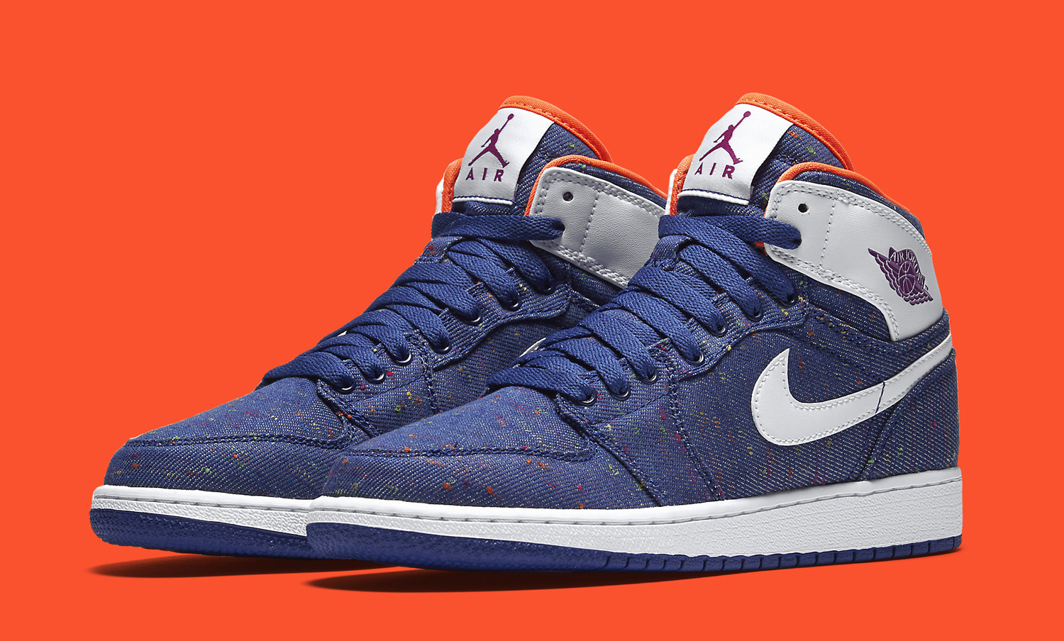 ff064a71d28 Air Jordan 1s Get a Denim Makeover