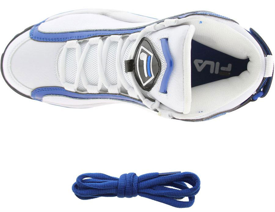 FILA 96 Grant Hill White Blue Black 1VB90031-162 (3)