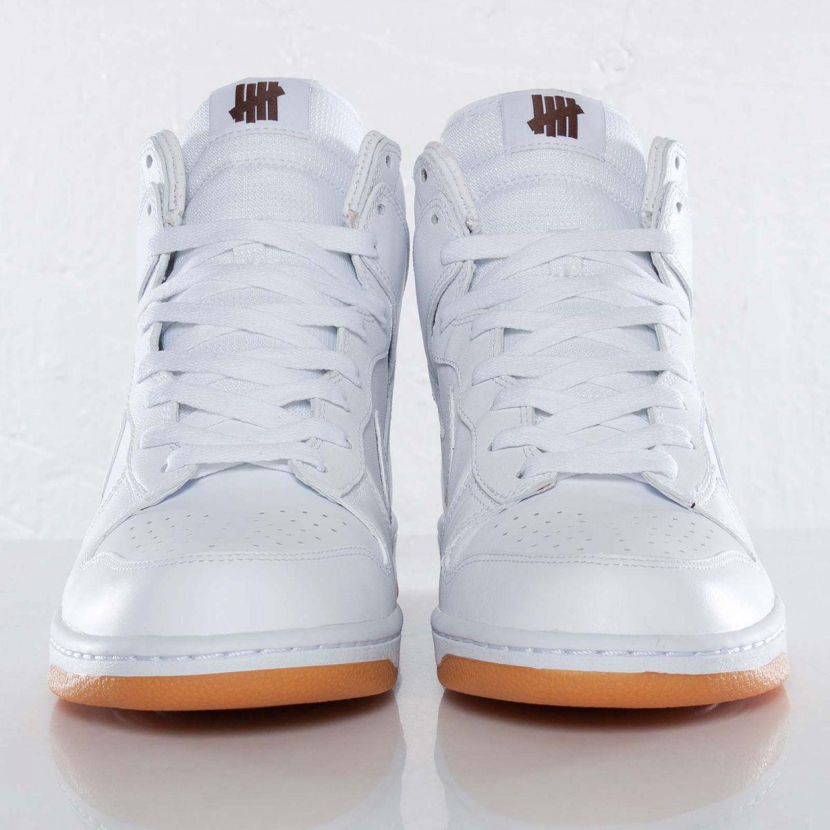 495d9379d4b6 Undefeated x Nike Dunk Hi PRM -
