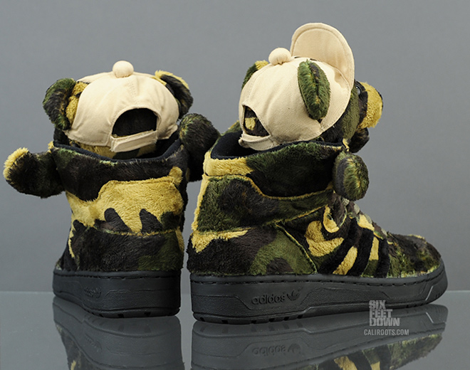 Jeremy Scott Camo Bear