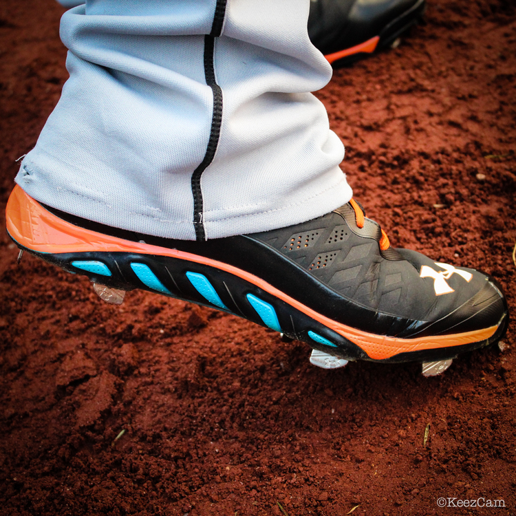 MLB Watch Jose Fernandez Under Armour Spine Marlins