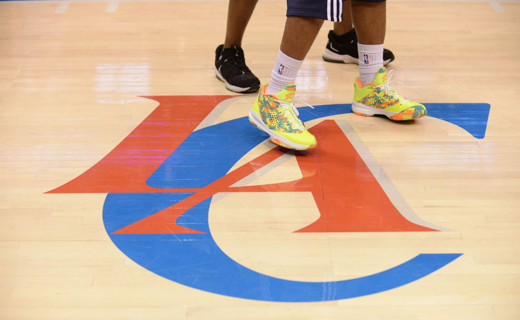 dacd6b252a0 Chris Paul Wears 'Volt Camo' Jordan CP3.VII iD | Sole Collector