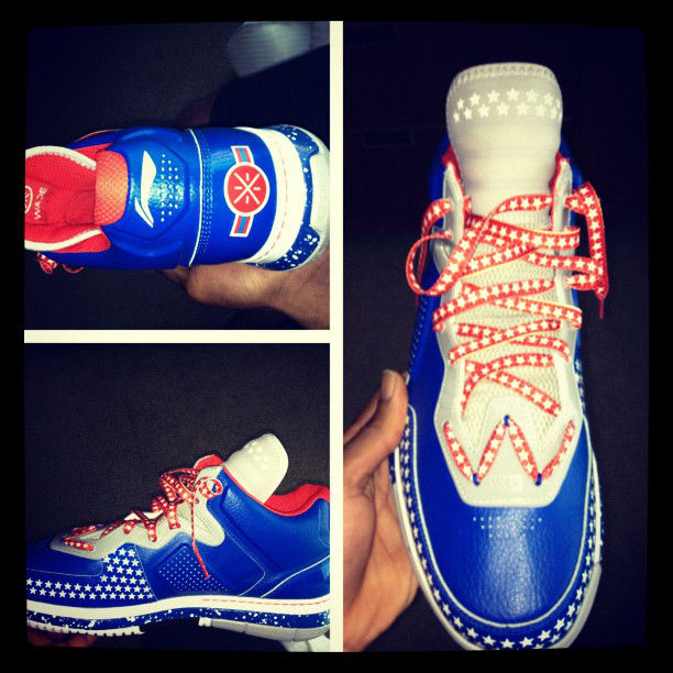 Dwyane Wade's Veterans Day Li-Ning Way of Wade PE